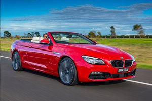 Snackable Review: BMW 640i Convertible