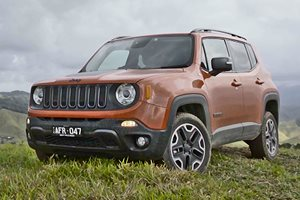 The Jeep Renegade in Tropical North Queensland