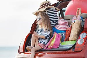 Top items you need in your car for a long journey with kids