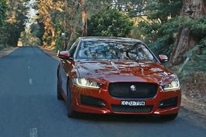 Jaguar XE Video Review