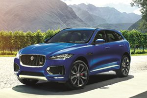 Jaguar F-Pace SUV on its way to Australia