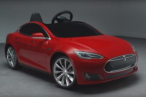 Kids can now drive a Tesla Model S