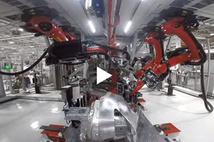 Video: Making of a Tesla Model X