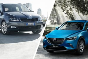 Skoda Fabia 66TSI Wagon v Mazda CX-3 Neo comparison review