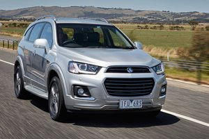 2016 Holden Captiva LTZ