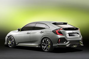 Geneva Motor Show: All-new Honda Civic Hatch revealed