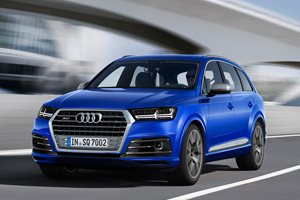 Audi SQ7 is the world's first triple-turbo super SUV
