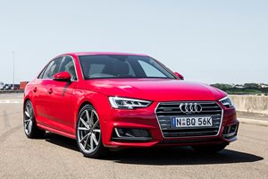 Audi A4 2.0 TFSI Quattro Quick Review Video