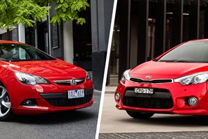 Holden Astra GTC Sport v Kia Cerato Koup Turbo Touring comparison review