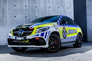A Mercedes-AMG GLE63 SUV is Australia's fastest police car