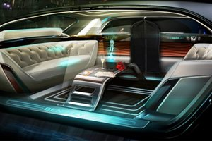Bentley luxury interiors for autonomous cars