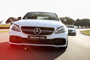 AMG Evolution driving experience at Phillip Island