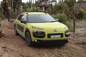 2016 Citroen C4 Cactus goes off-road
