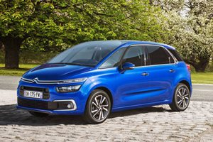 2016 Citroen C4 Picasso range facelifted