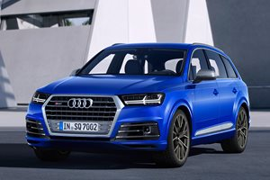 Audi SQ7 48 volt car