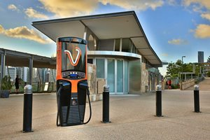 New stations cutting electric vehicle charging in half
