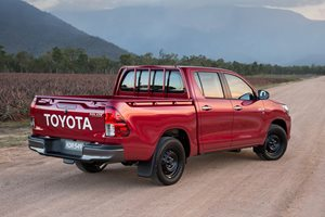 Toyota HiLux rear side