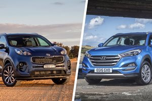 Kia Sportage vs Hyundai Tucson comparison review