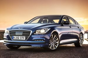 Hyundai Genesis Luxury car