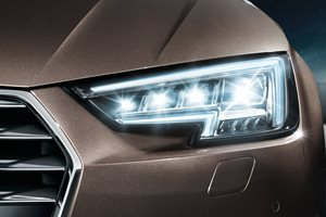 Audi Matrix LED lights