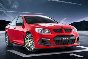 HSV Clubsport R8 Track Edition