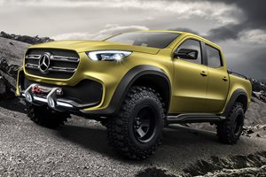 2018 Mercedes-Benz X Class concept utes revealed