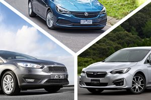2016 Holden Astra R vs Subaru Impreza 2.0i-L vs Ford Focus Trend review