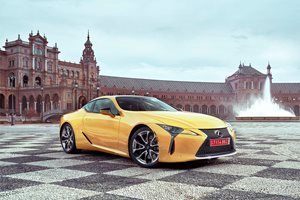 2017 Lexus LC: tech details revealed