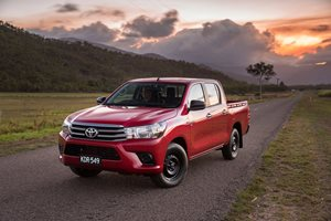 Toyota HiLux wins 2016 sales race in record industry year