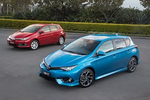 2017 Toyota Corolla update: AEB now offered in big safety upgrade