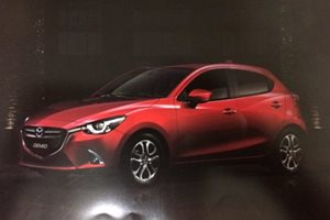Mazda 2 update images leaked