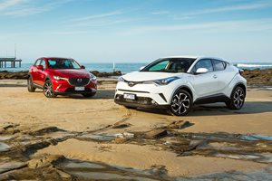 Toyota C-HR vs Mazda CX-3 comparison review