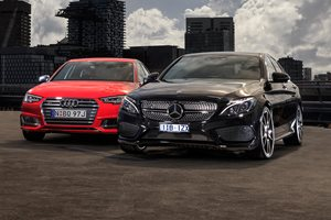 2017 Audi S4 vs Mercedes-AMG C43 comparison review