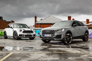 Audi Q2 Edition #1 vs Mini Countryman Cooper