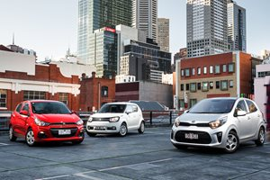 2017 Kia Picanto vs Suzuki Ignis vs Holden Spark comparison review