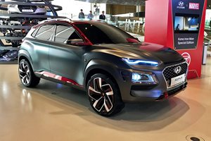 Hyundai, Marvel build Kona Iron Man special edition