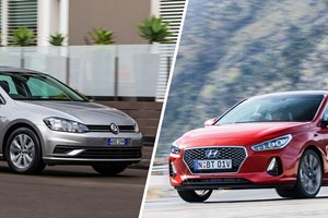 Head to head: Volkswagen Golf 110TSI Highline vs Hyundai i30 SR