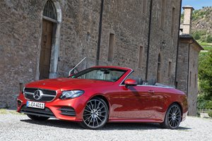 2018 Mercedes-Benz E-Class Cabriolet price and features