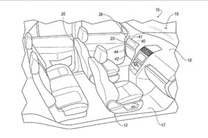 Ford patents removable controls for driverless car