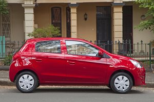 2017 Mitsubishi Mirage takes title as Australia's cheapest auto-equipped car