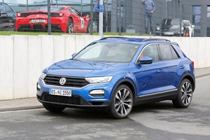 Volkswagen T-Roc R spied in Germany
