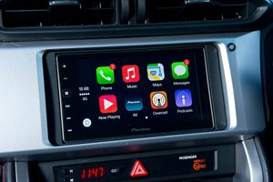 car iPhone and Android smartphone mirroring