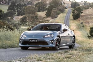 Toyota 86 performance pack available now