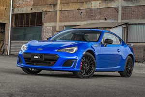 2018 Subaru BRZ range bolstered with tS
