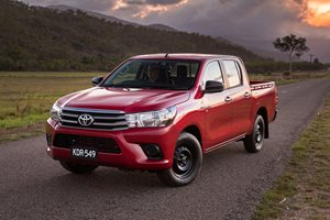 2017 Toyota Hilux - australia's top selling vehicle