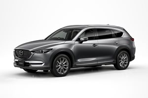 Mazda expands SUV range with driver-focussed CX-8