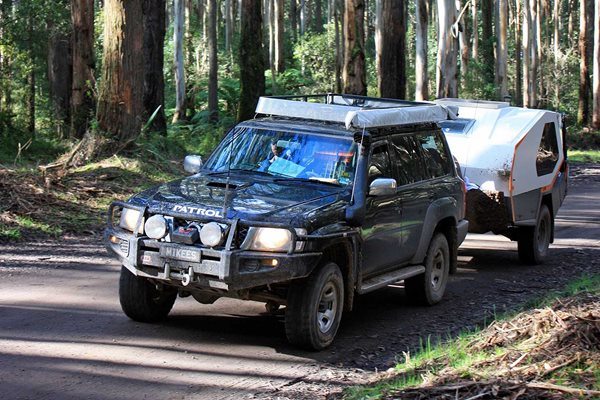 4x4 trip to the Otway Ranges Vic