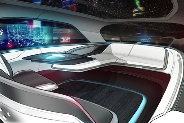 Audi Long Distance Lounge Concept reveals its car interior of the future