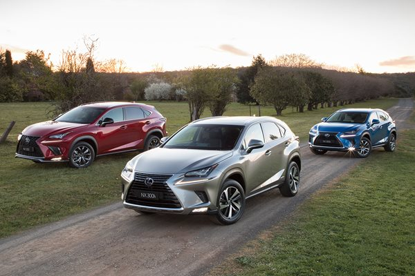 2018 Lexus NX pricing and features