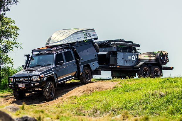 Toyota LandCruiser VDJ79 Goliath custom